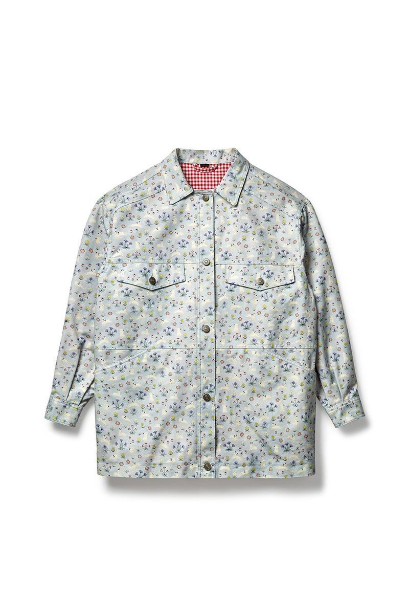 Gucci x Dover Street Market Collection Shirt Blue White