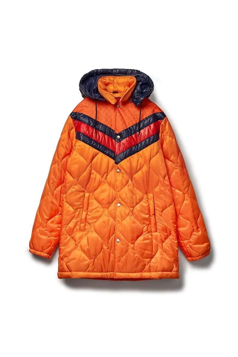 Gucci x Dover Street Market Collection Jacket Orange