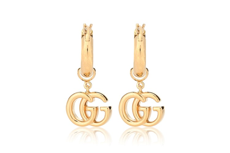 5073b53f6 Gucci's GG 18-Karat Gold Earrings Are on Our Summer Wish List