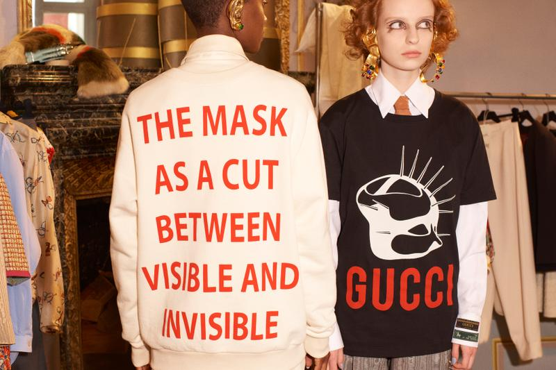 Gucci Manifesto Collection Sweatshirts Black Cream
