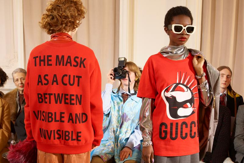 Gucci Manifesto Collection Sweater T Shirt Red