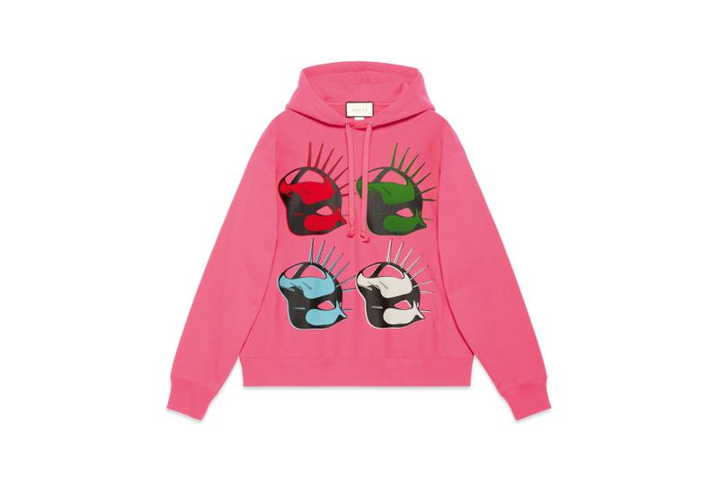 Gucci Manifesto Collection Hoodie Pink