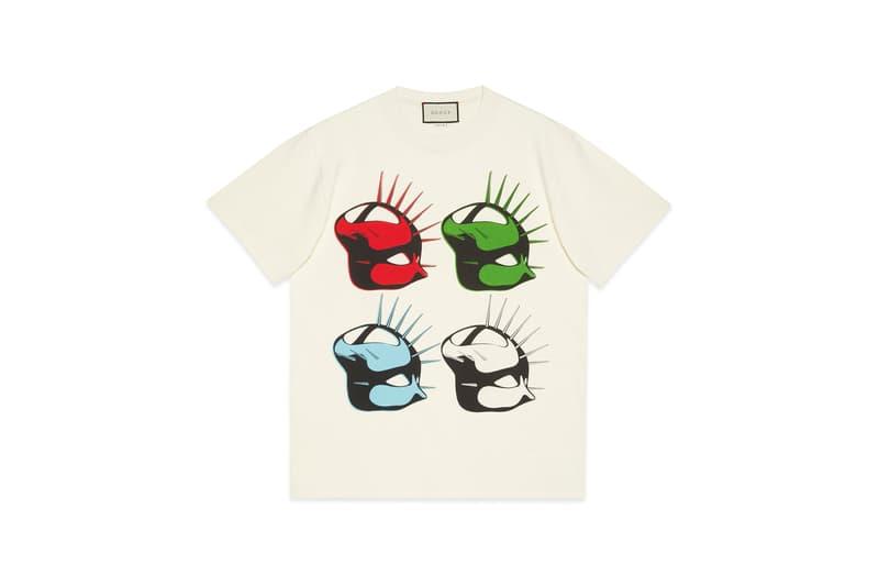 Gucci Manifesto Collection T Shirt Cream