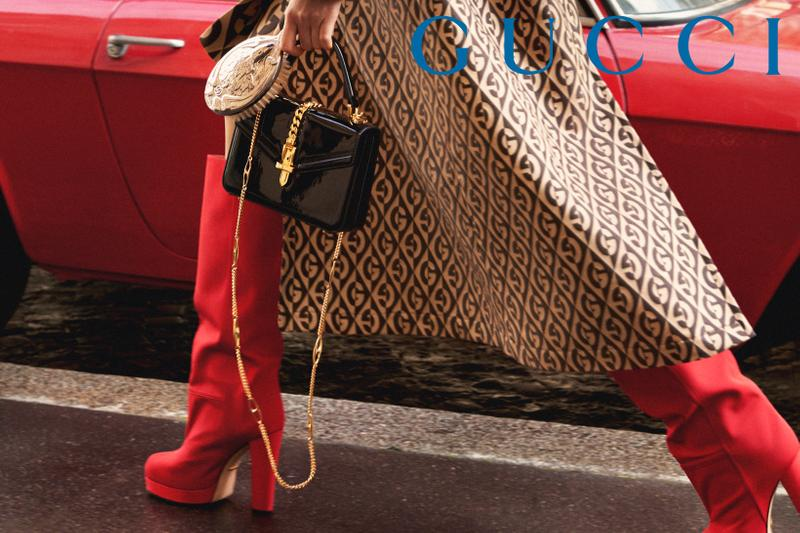 GucciPretAPorter Fall Winter 2019 Campaign Boots Red