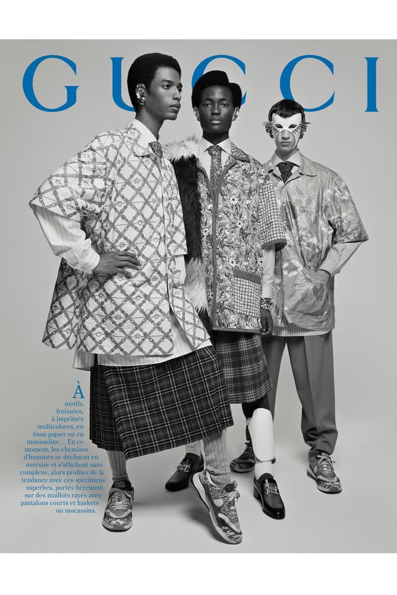 GucciPretAPorter Fall Winter 2019 Campaign Jackets Grey