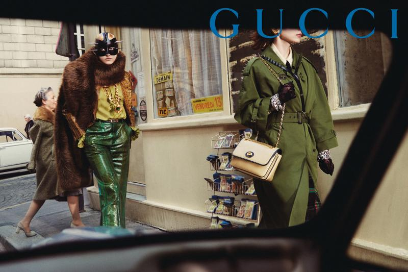 GucciPretAPorter Fall Winter 2019 Campaign Jacket Pants Brown Green