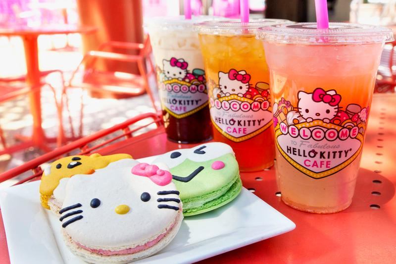 Hello Kitty Cafe The Park Las Vegas Opening Hours | HYPEBAE
