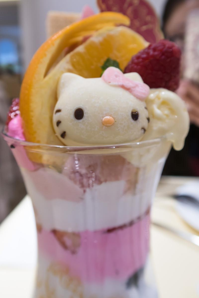 Hello Kitty Café Tokyo Kawaii Monster Restaurant Celebration Anniversary Food Collaboration Cat Themed Brunch