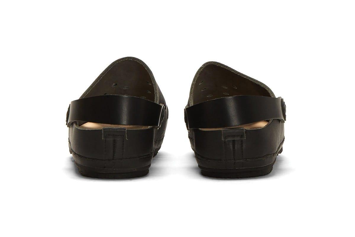 Hender Scheme Luxe Leather Black Crocs