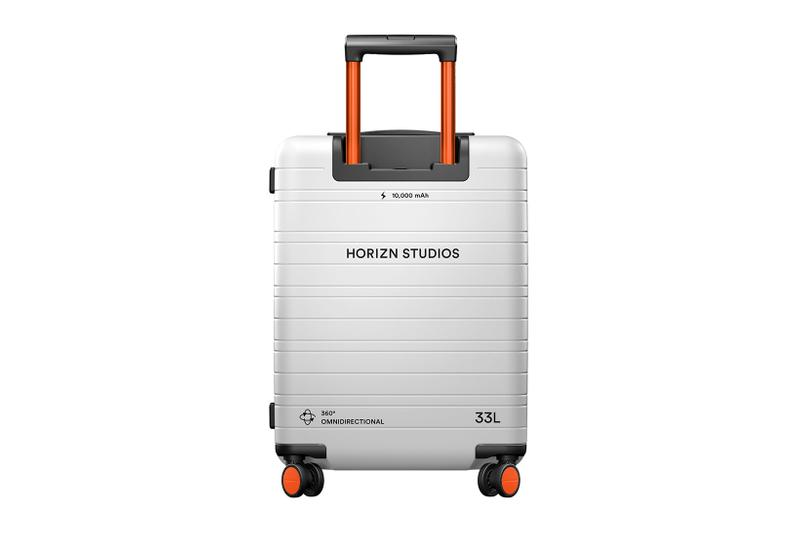 horizn studios limited edition nasa cabin luggage alyssa carson youngest astronaut space travel baggage bags suitcases