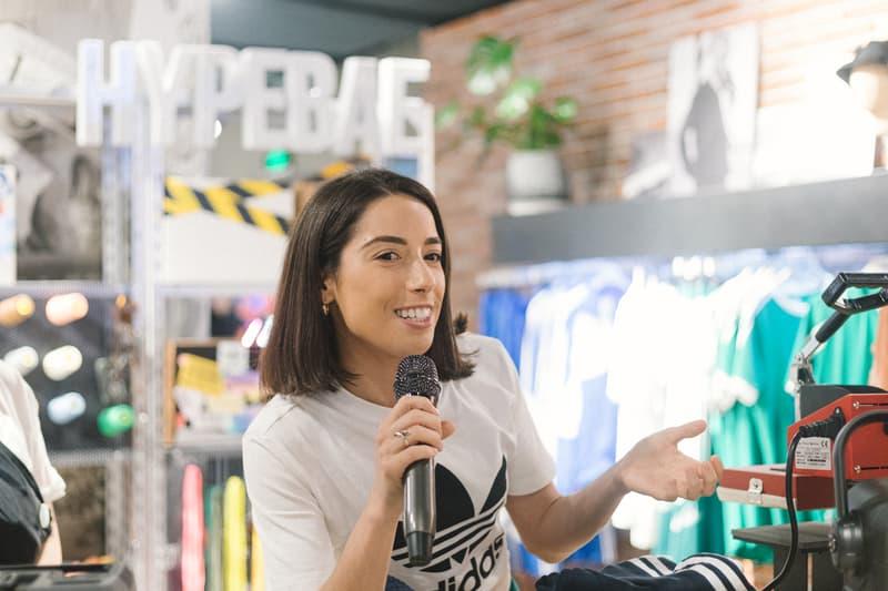 nicole mclaughlin artist adidas shanghai china workshop sustainability