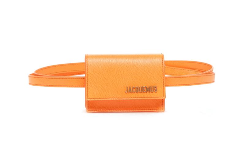 Jacquemus Ceinture Bello Belt Bag Orange