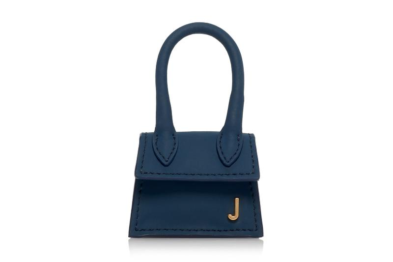 Jacquemus Le Petit Chiquito Tiny Micro Bag Lilac Navy Red