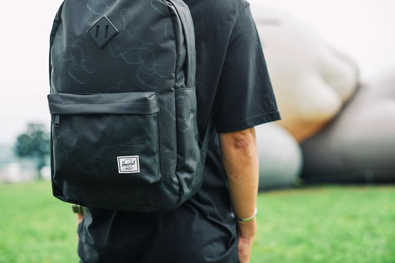 kaws herschel supply holiday exhibition companion camping backpack heritage mount fuji japan fumotoppara