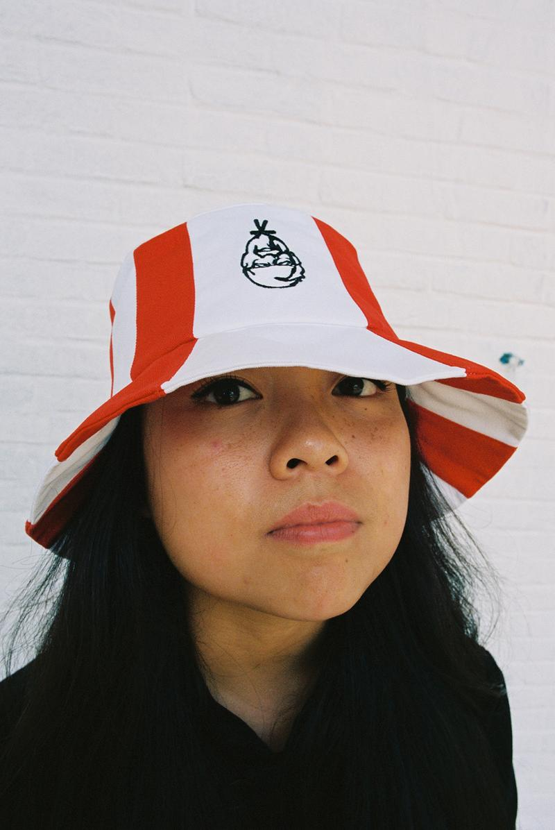 kfc russia limited edition bucket hat fried chicken fast food fashion mam cupy