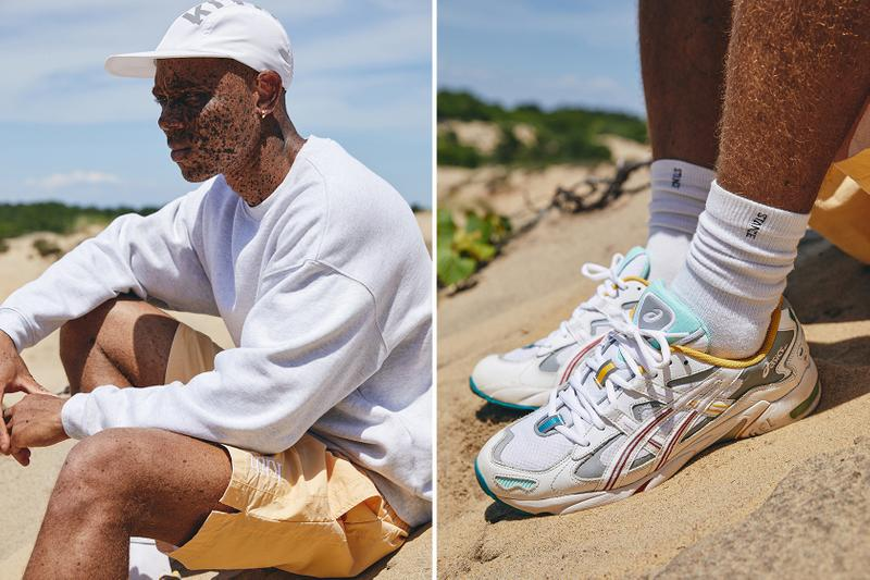 kith asics gel kayano 5 collab sneakers apparel accessories