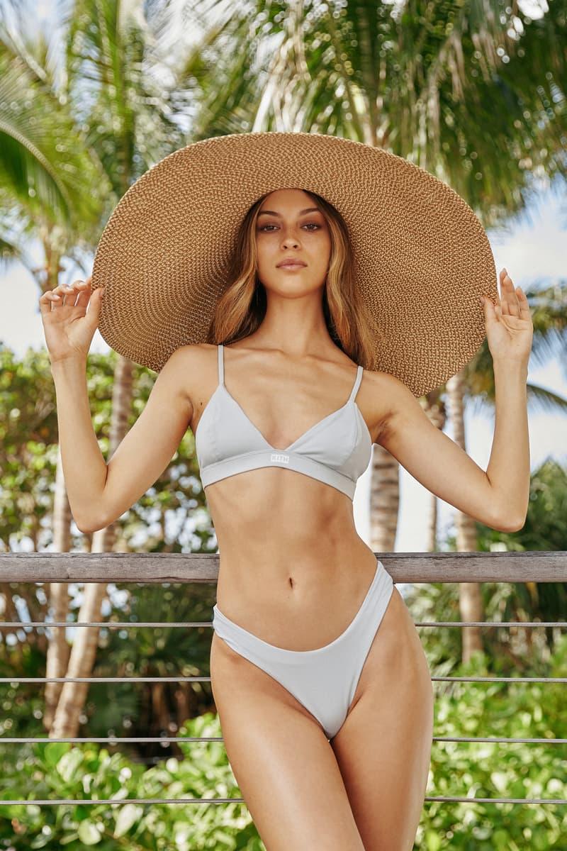 KITH Women Summer 2019 Capsule Campaign Bikini Blue