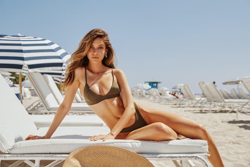 KITH Women Summer 2019 Capsule Campaign Bikini Green