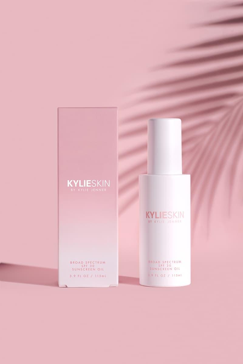 kylie skin broad specturm spf 30 sunscreen oil jenner