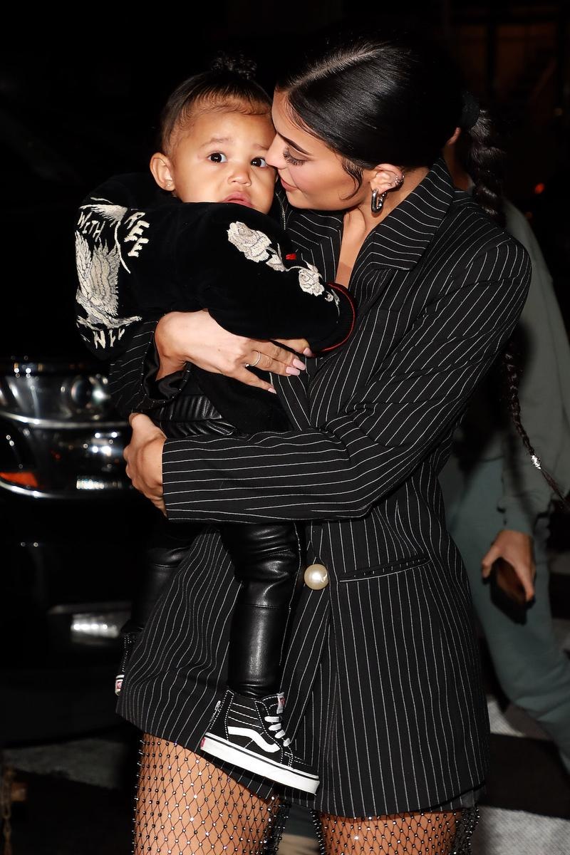 Stormi Kylie Jenner Harper's Bazaar Arabia Cover Kris Jenner Magazine Spread Interview Travis Scott Child