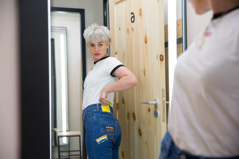 Designer Alicia Robinson AGR Knit Levi's Jeans Tailorshop Video