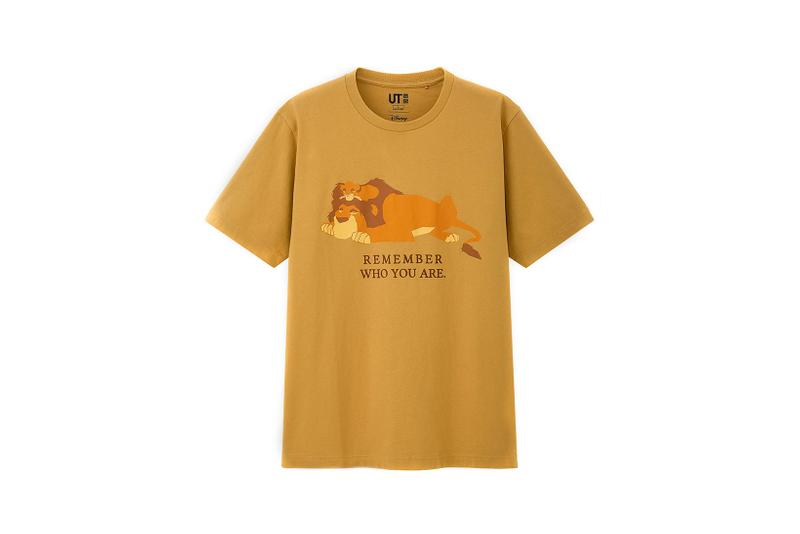 uniqlo ut lion king disney collab simba t-shirt beyonce donald glover