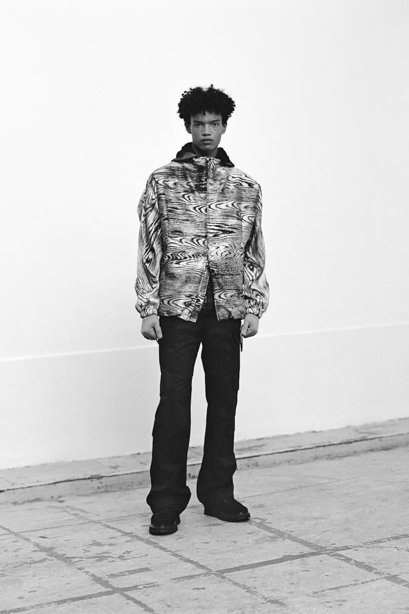 Louis Vuitton Men's Pre-Spring 2020 Lookbook Jacket Grey Pants Black
