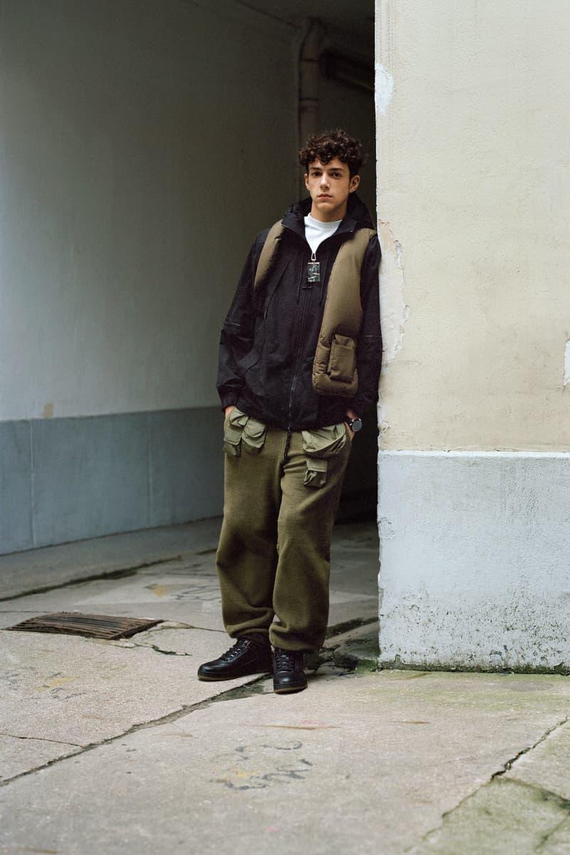 Louis Vuitton Men's Pre-Spring 2020 Lookbook Vest Pants Green