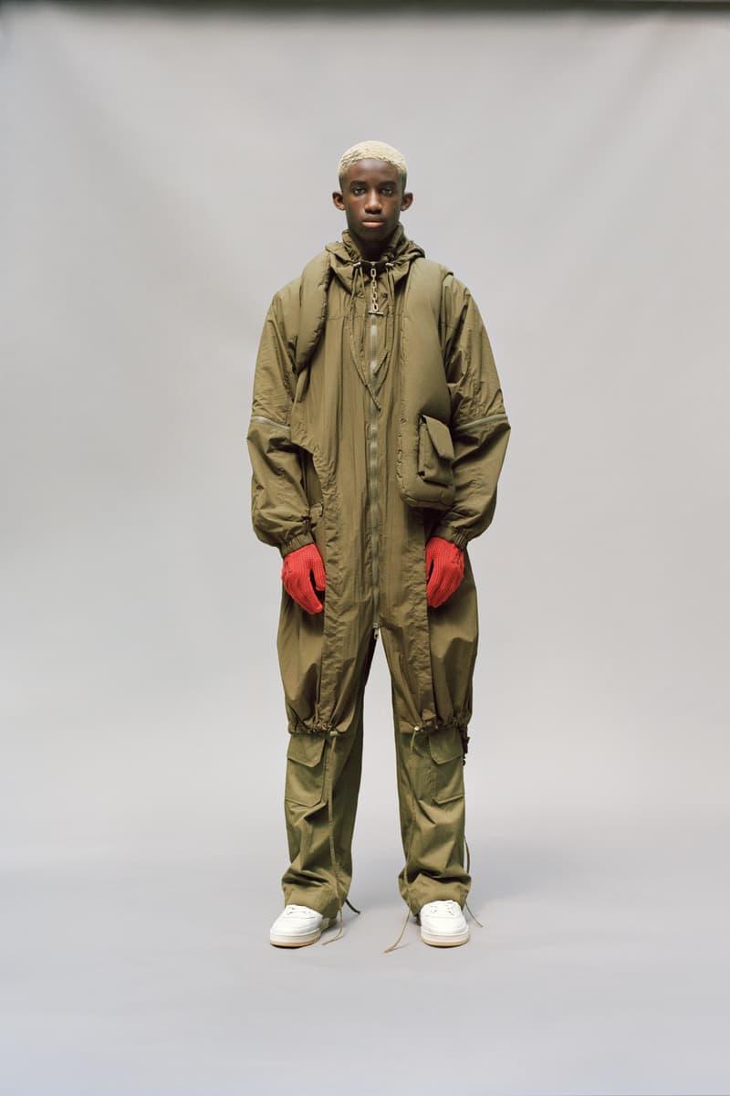 Louis Vuitton Men's Pre-Spring 2020 Lookbook Jacket Pants Green