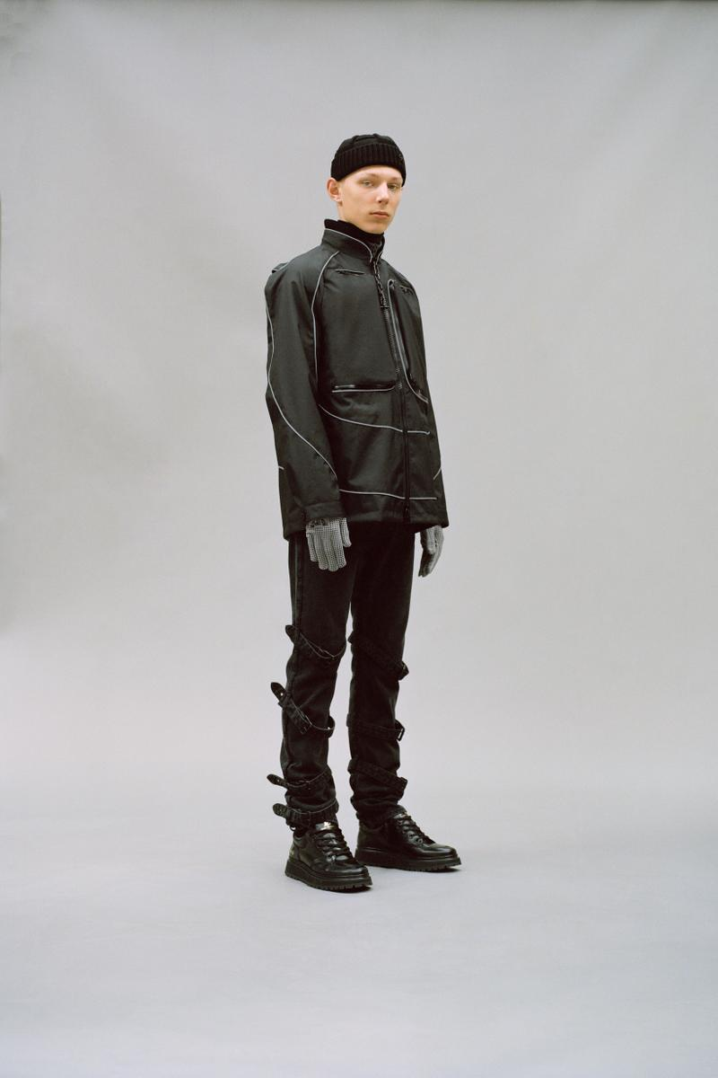 Louis Vuitton Men's Pre-Spring 2020 Lookbook Jacket Pants Grey