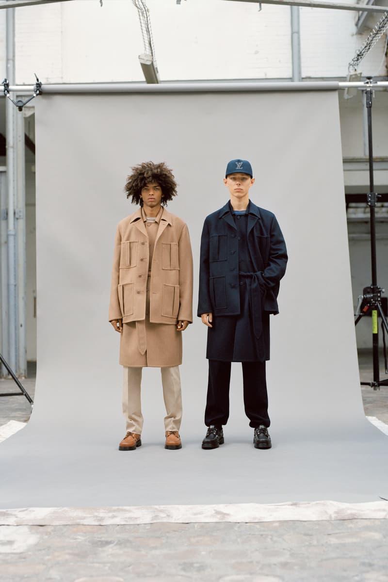 Louis Vuitton Men's Pre-Spring 2020 Lookbook Jackets Pants Black Tan