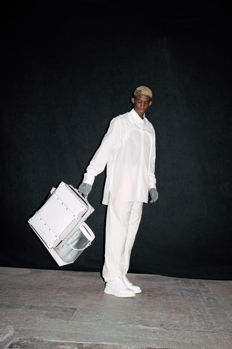 Louis Vuitton Men's Pre-Spring 2020 Lookbook Shirt Pants White