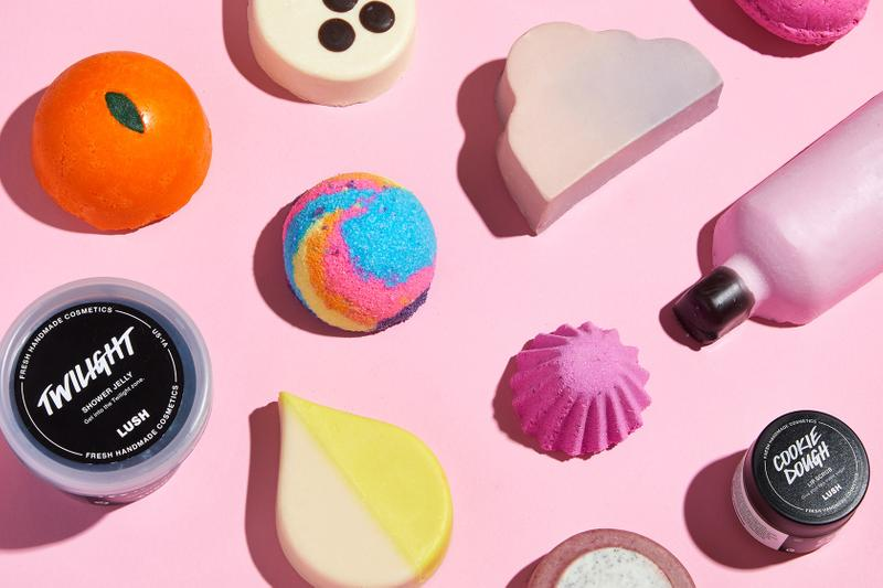 lush cosmetics summer 2019 product release shower oil jelly bomb body lip scrub bomb conditioner