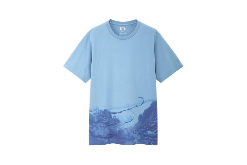 Makoto Shinkai x Uniqlo UT T Shirt Collection Blue