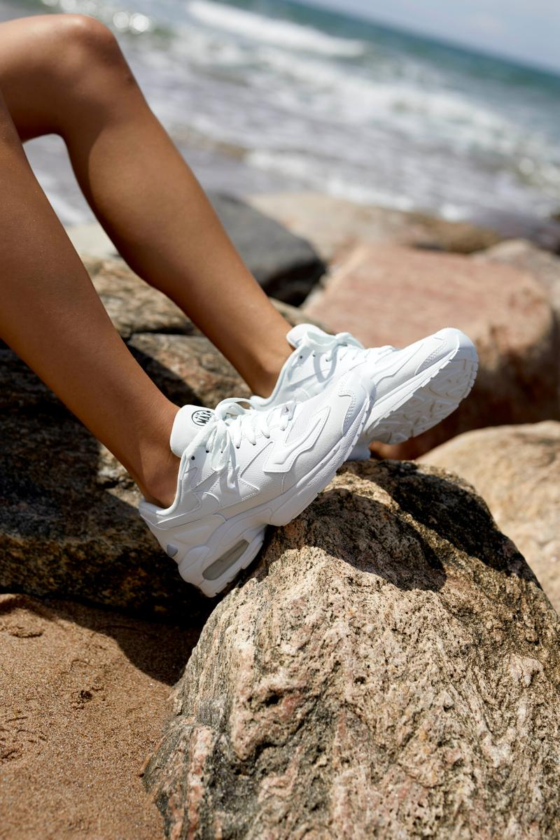 Naked Summer 2019 Editorial Nike AirMax 2 Light Sneakers White
