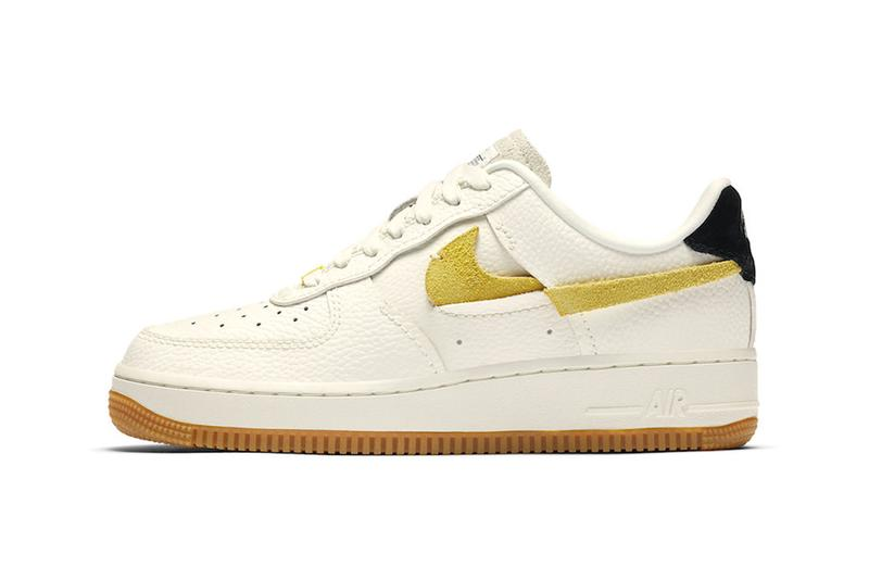 nike air force 1 af1 vandalized sail chrome yellow black release date