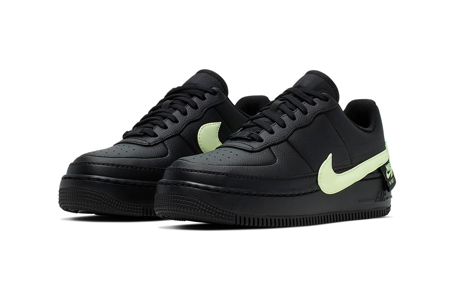 nike air force 1 jester black