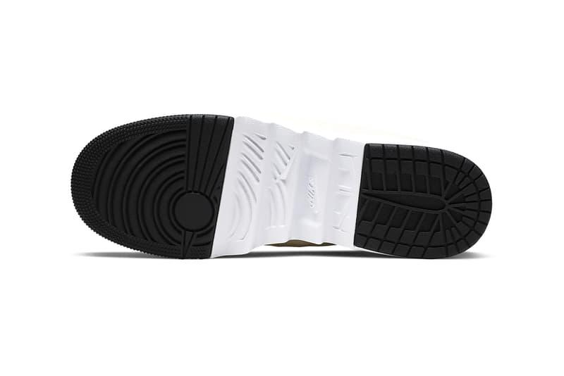nike air jordan 1 jester xx low laced women beige white black