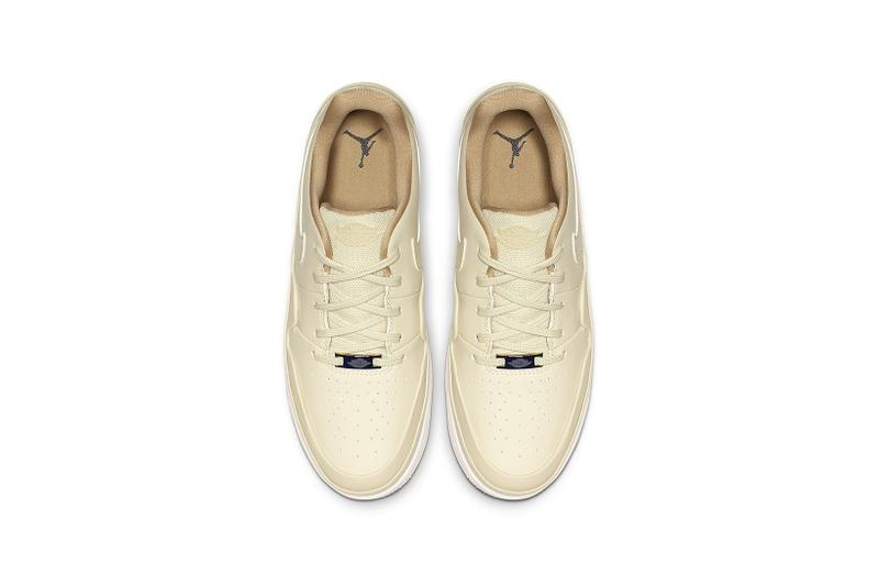 official photos 77c63 f2efc Nike's Air Jordan 1 Jester XX Low Laced in Beige | HYPEBAE
