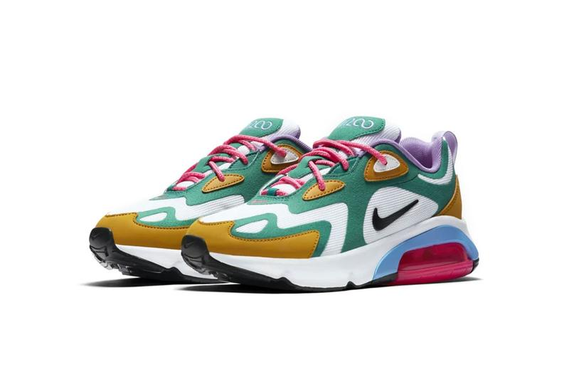 nike air max 200 mystic green release drop date sneakers footwear am200