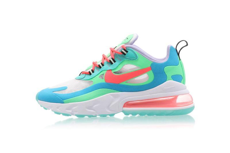 Where to Buy Glossier Dusky Pink Logo Hoodie Nike Air Max 270 React Electro Green Concepts Versace Chain React Sneaker Pharrell Williams adidas Solar Hu Greyscale Pack Fear of God Moc Particle Beige