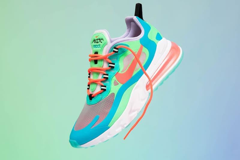 Nike Air Max 270 React Electro Green Drop Date Hypebae