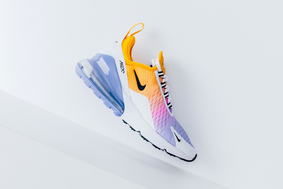 Nike Tie Dye Sunset Colored Air Max 270 Sneaker Hypebae
