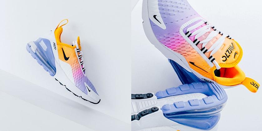 Nike Tie Dye Sunset Colored Air Max 270 Sneaker Hypebae