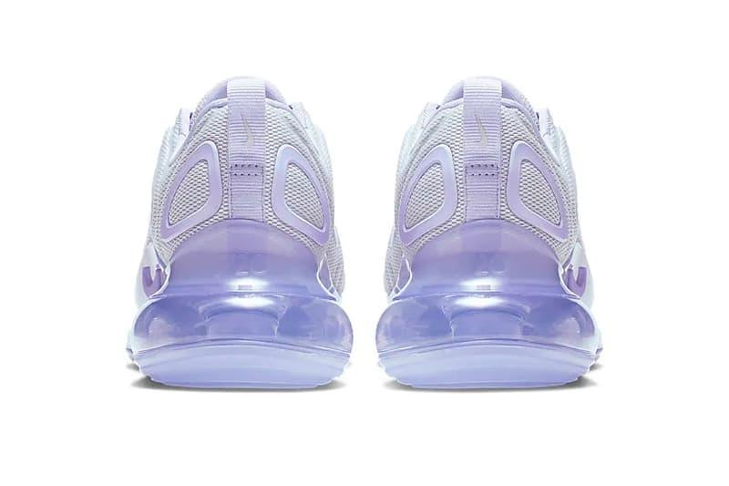 nike air max 720 pastel oxygen purple sneaker