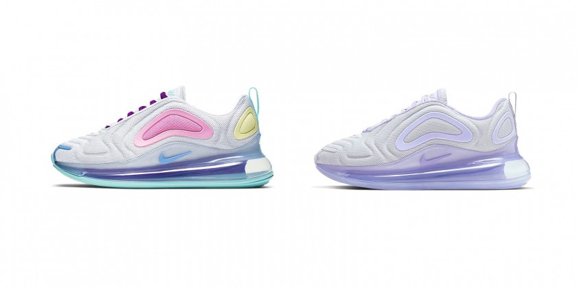 air max 720 blue and pink