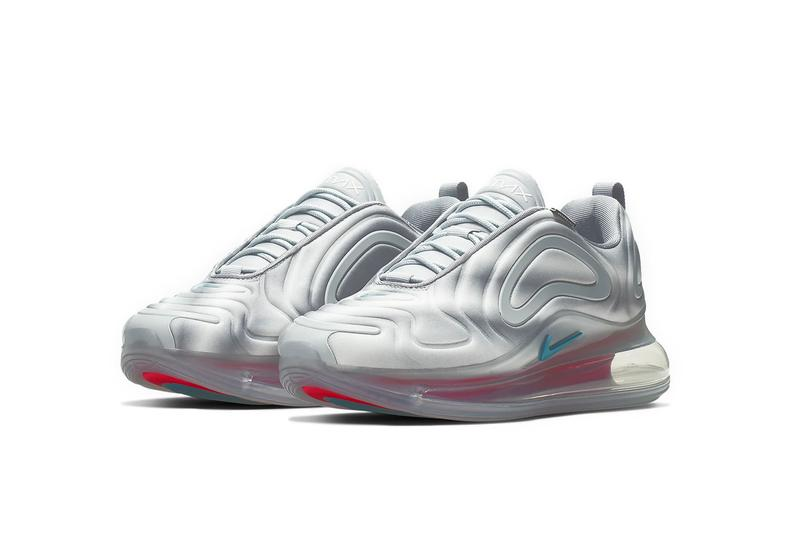 nike air max 720 sneakers wolf grey red orbit rainbow colorful