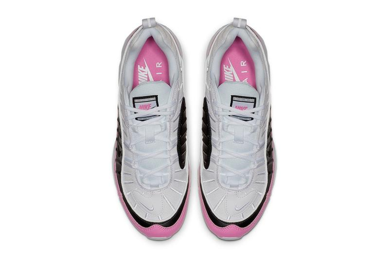 Nike Air Max 98 SE China Rose Pink Black White Sneakers Trainers