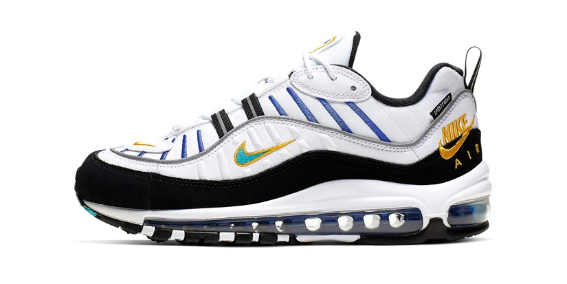 Nike Releases Air Max 98 In University Gold Hypebae