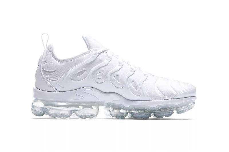 nike air vapormax plus metallic silver active fuchsia sneakers footwear sneakerhead